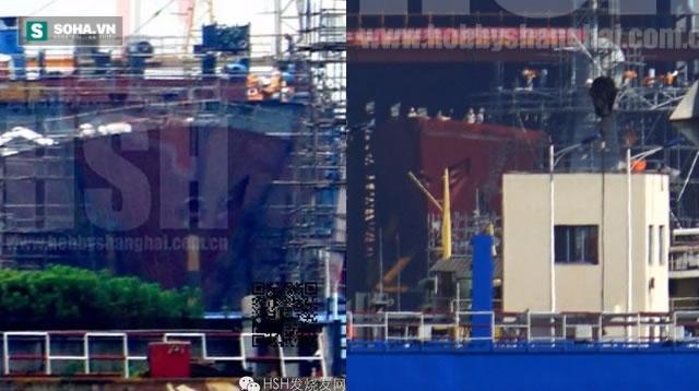 Rò rỉ hình ảnh tàu khu trục thế hệ mới của Trung Quốc - Ảnh 1.