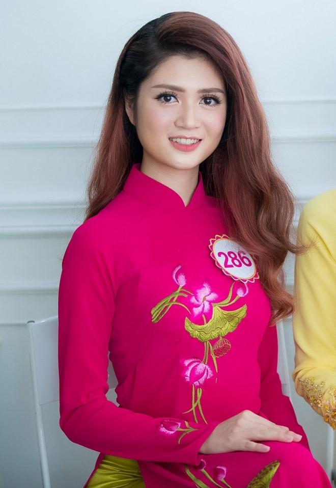 Thi sinh so huu vong eo 56 cm cua Hoa hau Viet Nam hinh anh 3