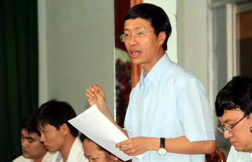Ông Tấn cho rằng UBND tỉnh Bình Phước cần công bố dịch. Ảnh: Phước Tuấn
