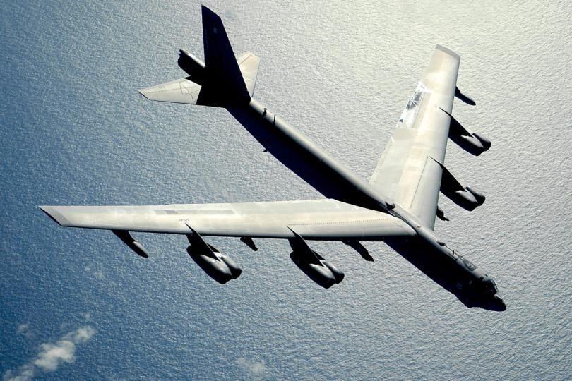 Mỹ từng điều máy bay ném bom B-52 thách thức ADIZ của Trung Quốc lập trên biển Hoa Đông. Ảnh: Không quân Mỹ