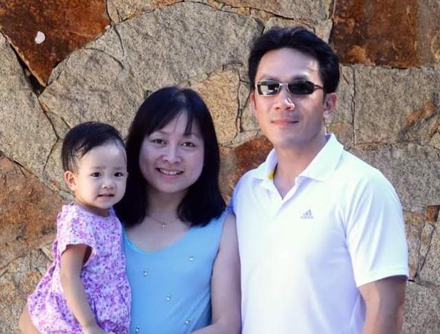 Gia đình anh Trung, chị Vân (ảnh nhân vật cung cấp).
