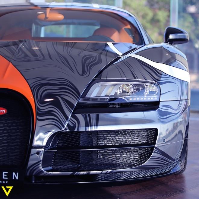 Bugatti Veyron Super Sport mau son doc duoc rao ban hinh anh 5