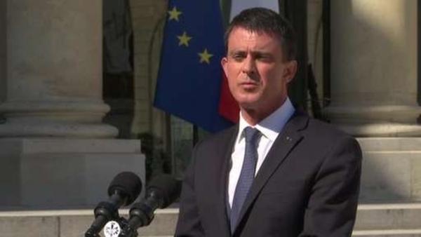 Thủ tướng Pháp Manuel Valls. Ảnh: BBC.