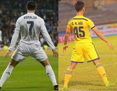 Khen Ronaldo, Quế Ngọc Hải khốn khổ vì fan Messi - Ảnh 2.