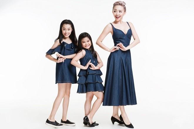 Toc Tien tinh nghich ben dan thi sinh Vietnam Idol Kids hinh anh 2