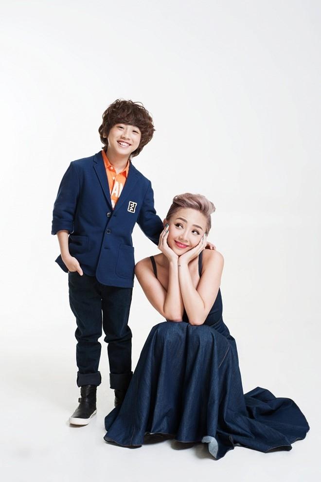Toc Tien tinh nghich ben dan thi sinh Vietnam Idol Kids hinh anh 4