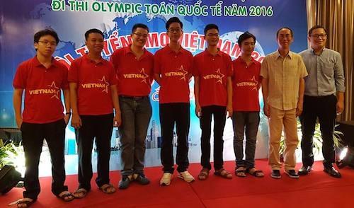 Đội tuyển Việt Nam tham dự IMO 2016