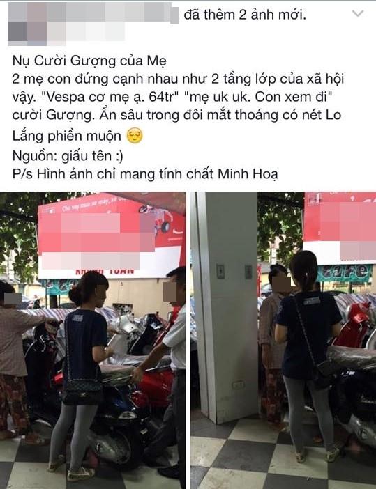 Vu co gai doi me mua xe dat tien: Nguoi ban hang len tieng hinh anh 2
