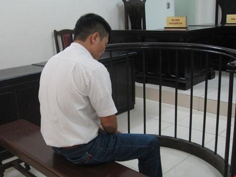 Bị cáo Kiều Đức Hạnh tại tòa phúc thẩm