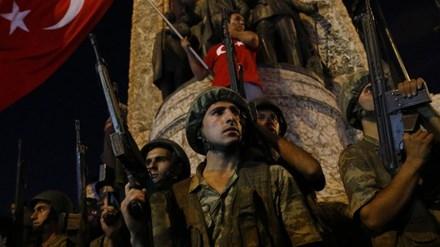 Cuộc đảo chính ở Thổ Nhĩ Kỳ nhanh chóng bị dập tắt