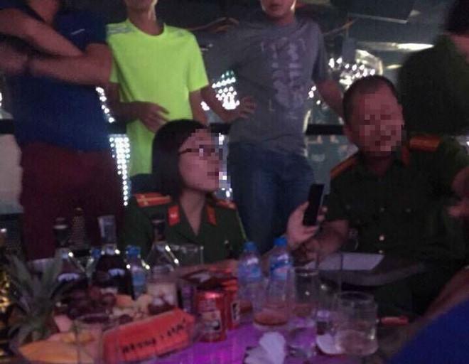 Canh sat dot kich quan bar lon nhat Thanh Hoa hinh anh 1