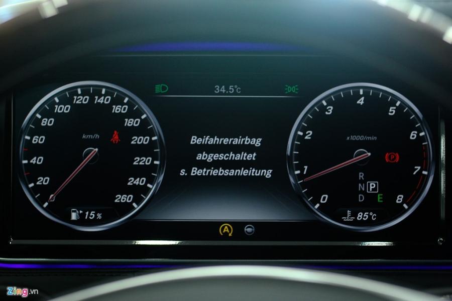 Chi tiet xe sang Mercedes-Maybach S500 tai Ha Noi hinh anh 7