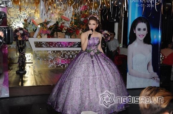 Lâm Chi Khanh thay váy liên tục trong tiệc sinh nhật hoành tráng 6