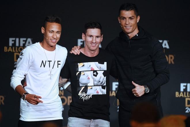 Neymar tin Ronaldo se gianh Qua bong Vang hinh anh 1