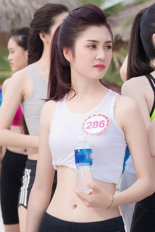 Nhan sắc thí sinh Hoa hậu sở hữu thân hình như Ngọc Trinh - Ảnh 1.