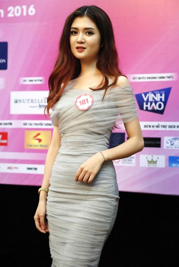 Nhan sắc thí sinh Hoa hậu sở hữu thân hình như Ngọc Trinh - Ảnh 4.