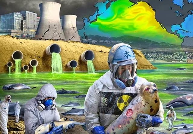 Các chất phóng xạ ngưng tụ thành các vi hạt thủy tinh ... hiện nay rất đậm đặc và không tan