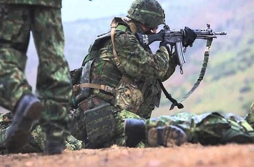 Bất ngờ nguồn gốc súng trường 'khủng' nhất Nhật Bản - ảnh 9