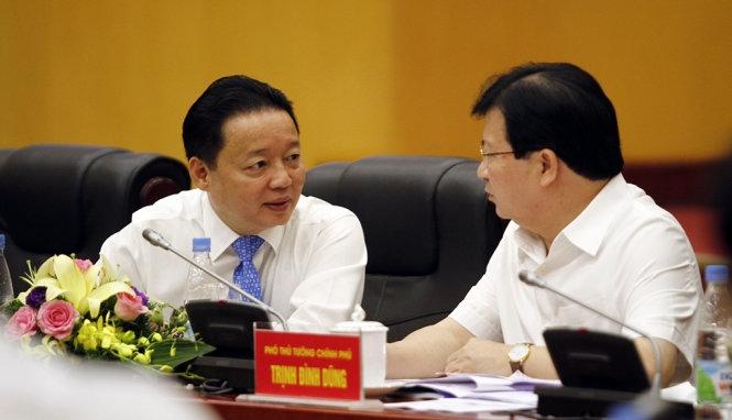Bộ trưởng Trần Hồng Hà: báo cáo môi trường từ Formos quá chung chung