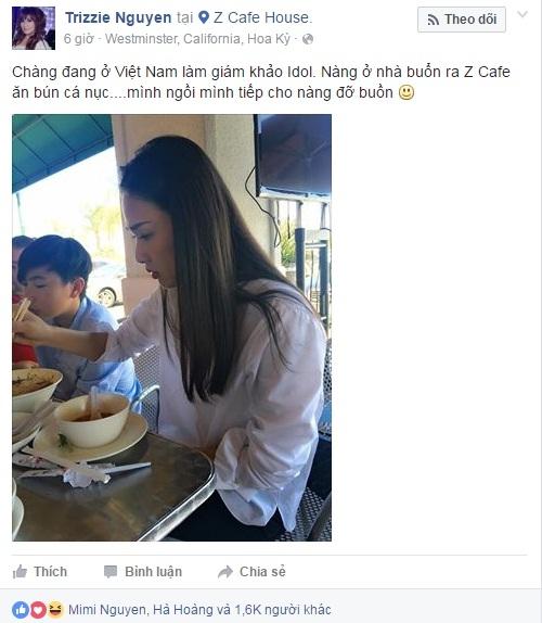Cách cư xử của vợ cũ Bằng Kiều với Dương Cẩm Linh - Ảnh 1.