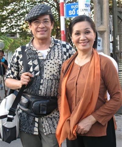 Thanh Bạch và Xuân Hương khi còn là vợ chồng