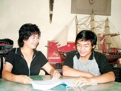 Thanh Tú và mẹ Xuân Hương