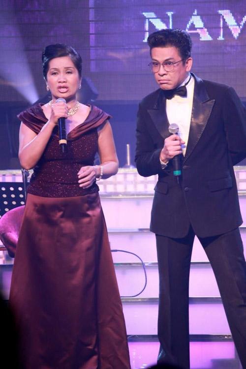 Nghệ sĩ Xuân Hương và Thanh Bạch từng đứng chung sân khấu sau khi ly dị.