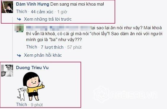 Đàm Vĩnh Hưng khóa facebook 2
