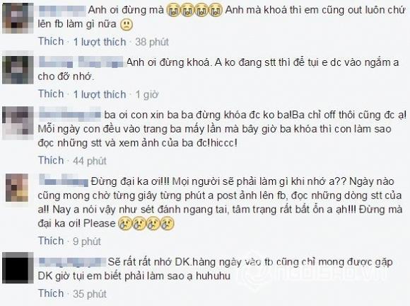 Đàm Vĩnh Hưng khóa facebook 4