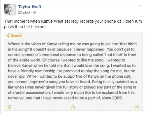 Kim công bố video bằng chứng Taylor Swift giả dối về scandal với Kanye West - Ảnh 3.