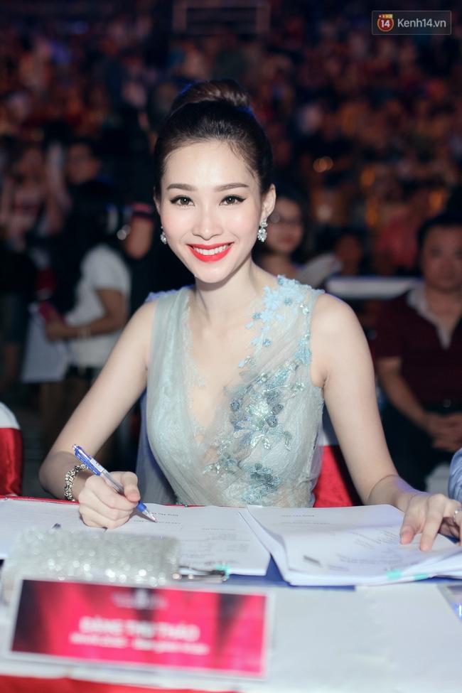 Thu Thảo - Huyền My xuất hiện rực rỡ, Kỳ Duyên vắng mặt tại chung khảo miền Bắc HHVN 2016 - Ảnh 3.