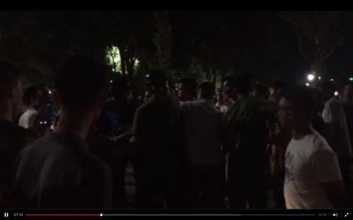 Thực hư đại chiến ở Bờ Hồ: 'Thanh niên xăm trổ tấn công cảnh sát'? - Ảnh 1