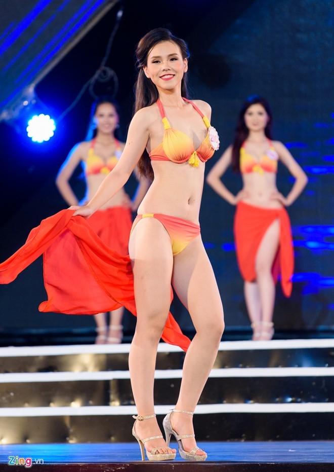 Top 18 Hoa hau Viet Nam mien Bac nong bong voi ao tam hinh anh 5