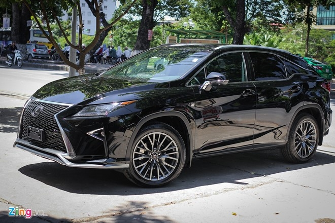 Anh chi tiet Lexus RX350 F-Sport 2016 tai Ha Noi hinh anh 3