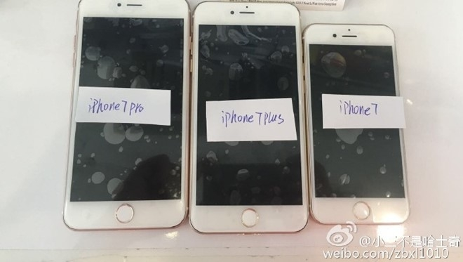 Anh ro net dau tien ve iPhone 7 Pro, Plus va iPhone 7 hinh anh 1