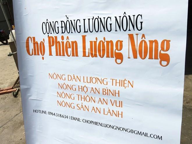Cho thuc pham xanh tu te hut khach Sai Gon hinh anh 8