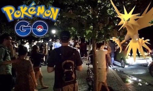 Video: Người Mỹ đang phát cuồng với Pokémon GO - 1