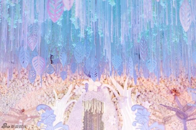 Không gian lễ cưới của cặp uyên ương 'Thần điêu đại hiệp'