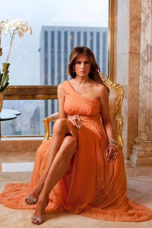 Nhan sắc của vợ ứng viên Tổng thống Mỹ Donald Trump