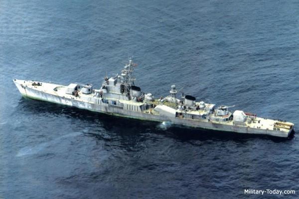Tàu hộ tống lớp Najin là chiến hạm lớn nhất của Hải quân Triều Tiên. Ảnh: Military Today