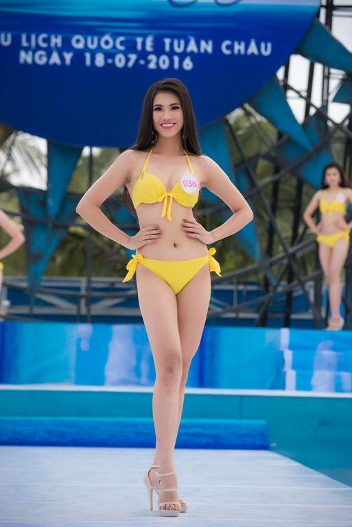 Thí sinh HHVN diễn bikini tranh giải Người đẹp biển - 3