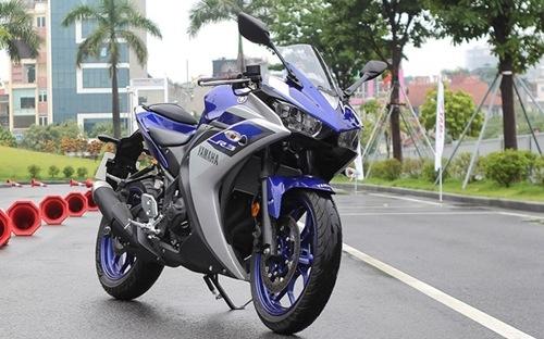 Triệu hồi 720 môtô Yamaha R3 nhập khẩu