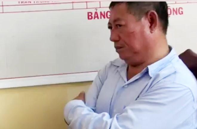Trung ta cong an ban chet chu tiem vang xin khoan hong hinh anh 2