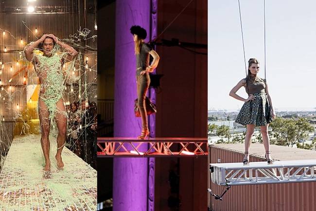 Tuyển tập những sàn catwalk kinh khủng nhất của Vietnams Next Top Model - Ảnh 1.