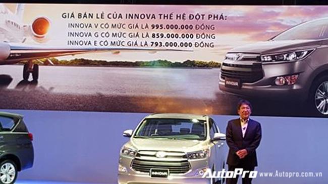 Vừa ra mắt, Toyota Innova 2016 đã gây xôn xao vì giá bán - 1