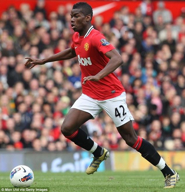 Pogba ký hợp đồng 5 năm với Man Utd, nhận lương tuần 220.000 bảng - Ảnh 1.