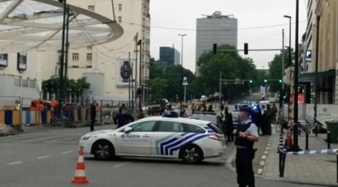 Báo động nhầm đánh bom, cảnh sát Bỉ phong tỏa trung tâm Brussels - ảnh 1