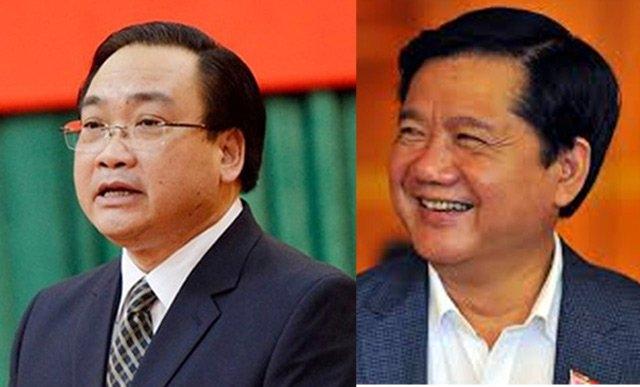 Bí thư Thăng, Bí thư Hải được bầu làm Trưởng Đoàn đại biểu Quốc hội