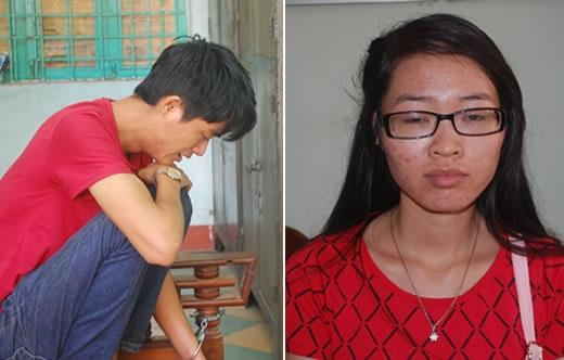 Phạm Ngọc Lâm và Lê Thị Thu Thủy.