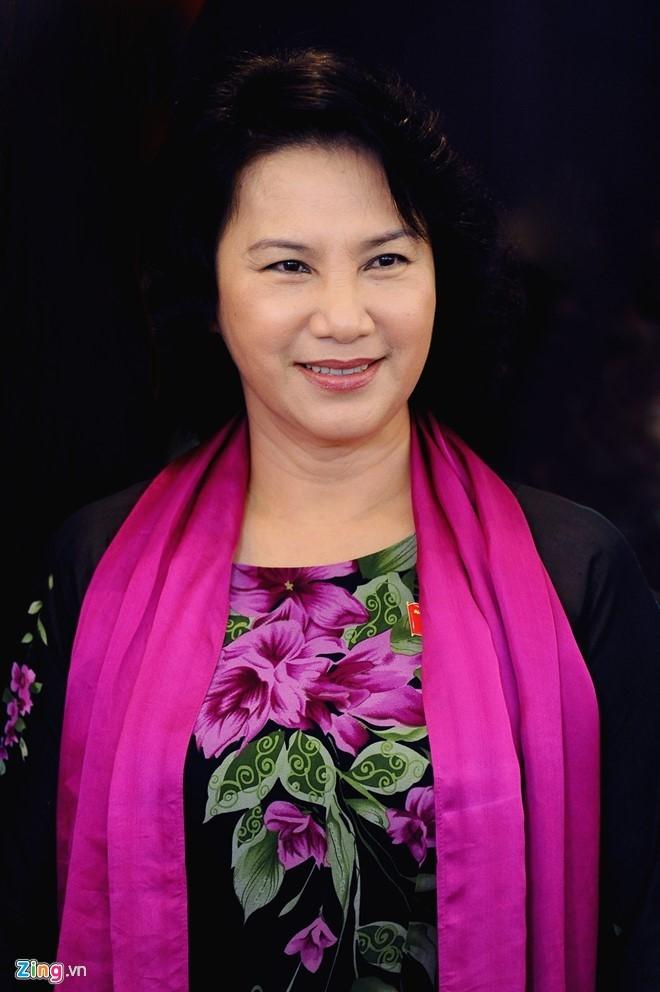Gioi thieu ba Nguyen Thi Kim Ngan tai cu Chu tich Quoc hoi hinh anh 1